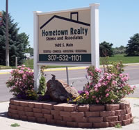 Hometown Realty Sign
